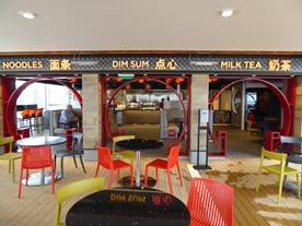Ovation of the Seas Kung Fu Panda Noodles