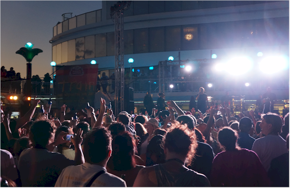 Hands up who wants to go on a Music Festival Cruise?