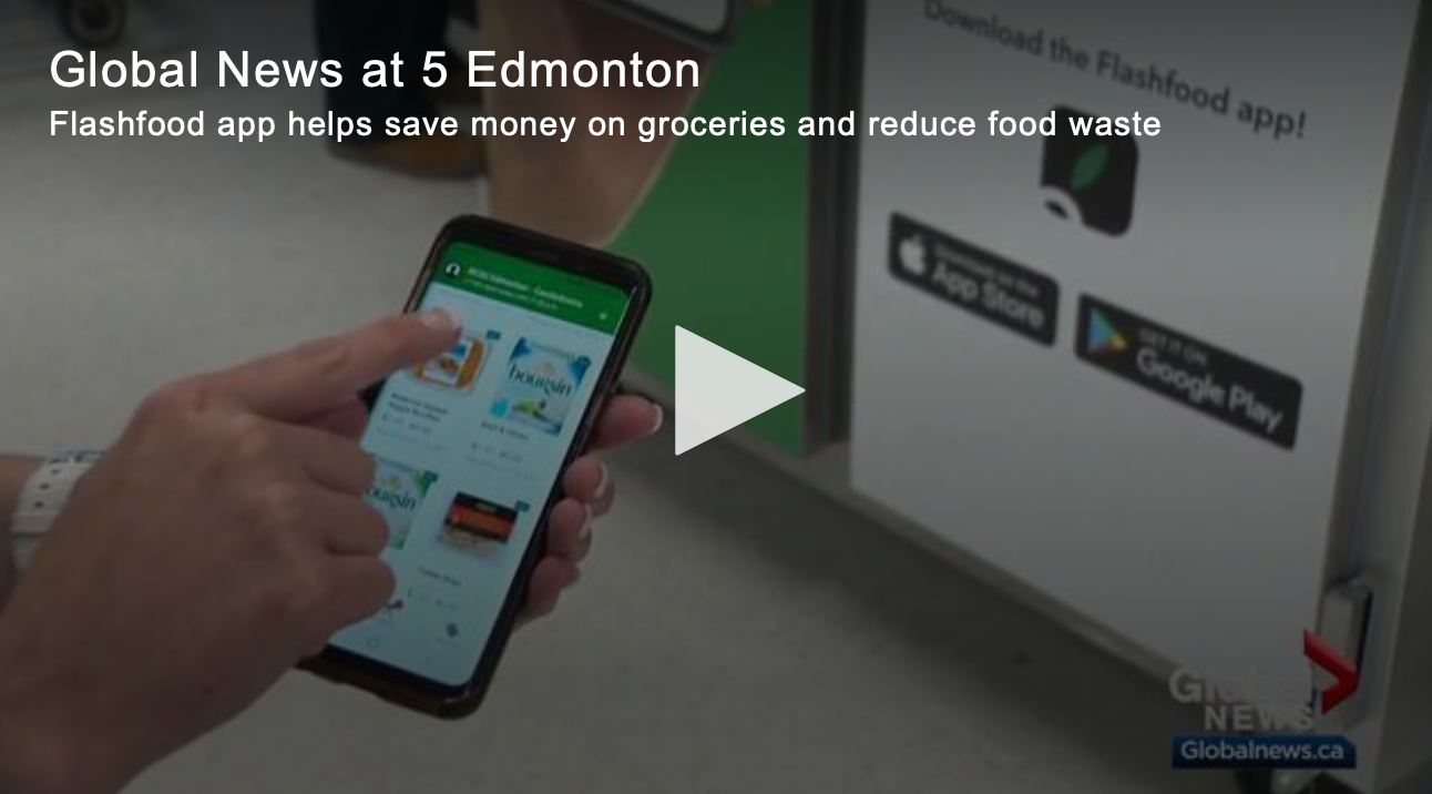 Flashfood app helps save money on groceries and reduce food waste