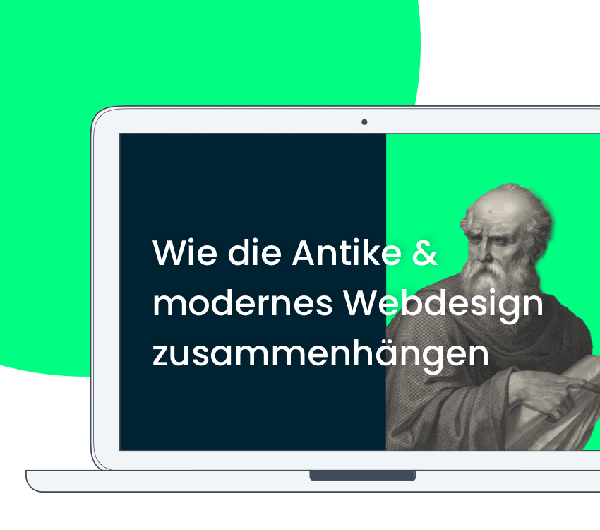 Wie die Antike und modernes Webdesign zusammenhängen