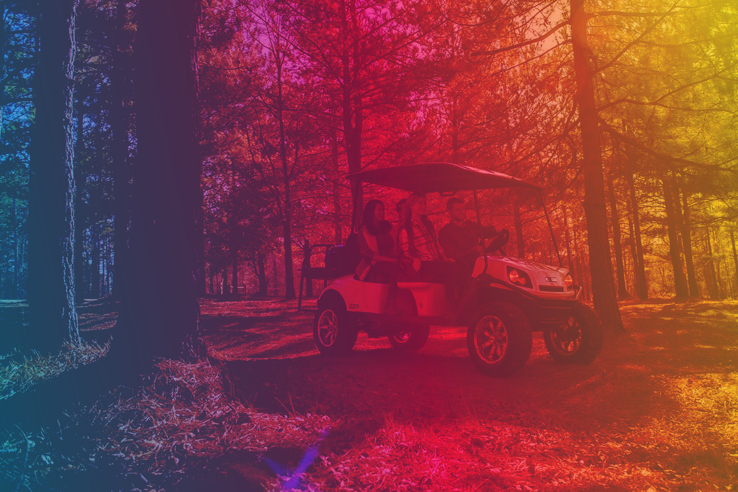 Electrify Expo Electric Golf Cart image