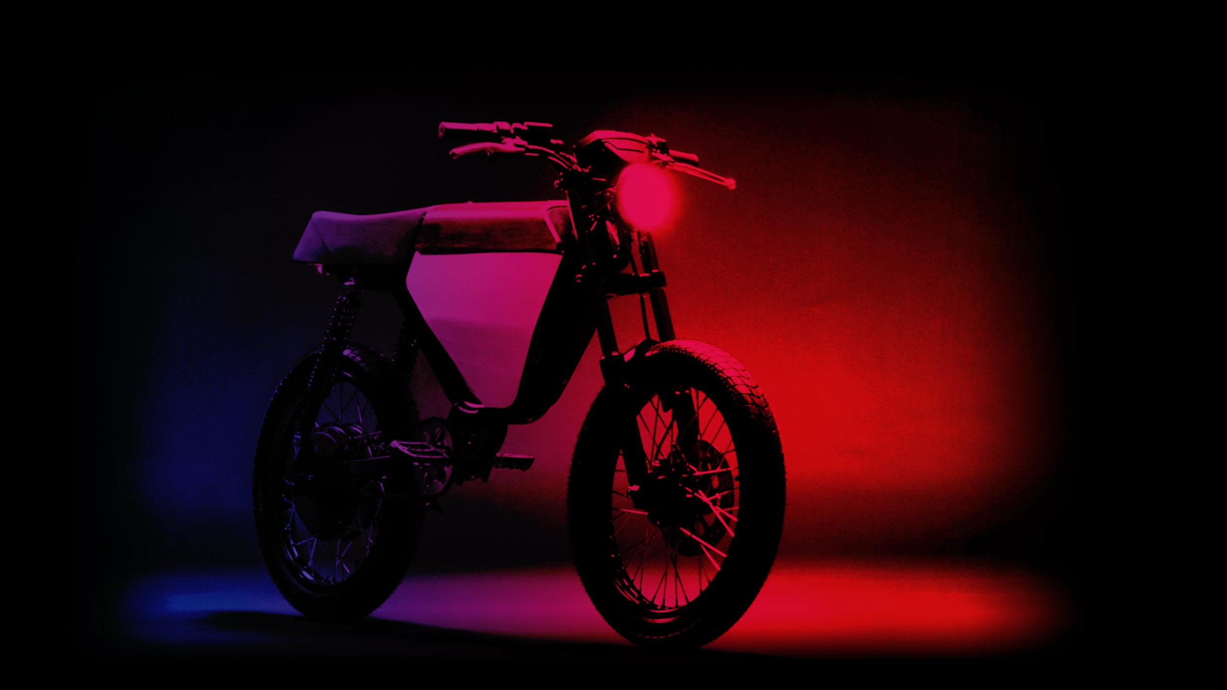 Electrify Expo Motorbike landing page image