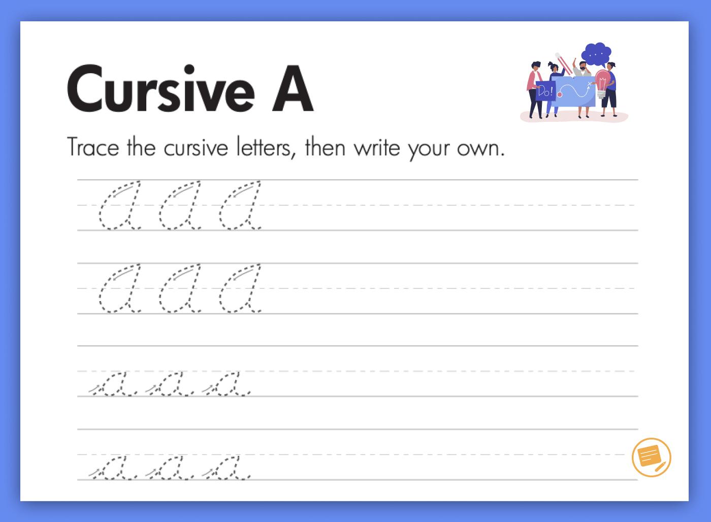 cursive-writing-a