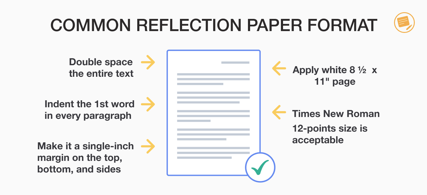 How to Write a Reflection Paper: Guide with Example Paper  EssayPro