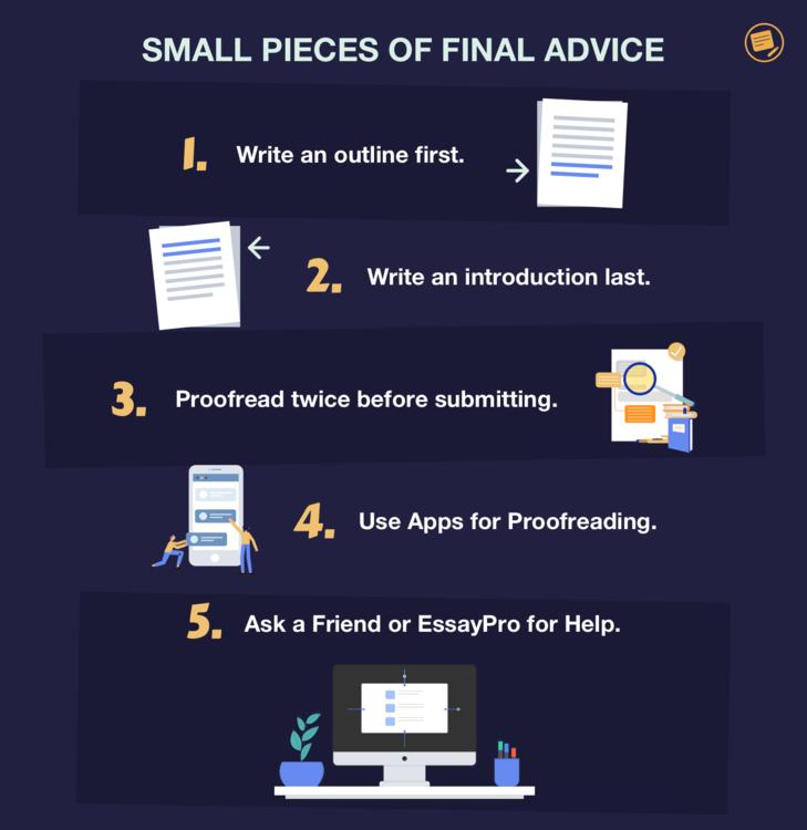 advice for 1000 word essay
