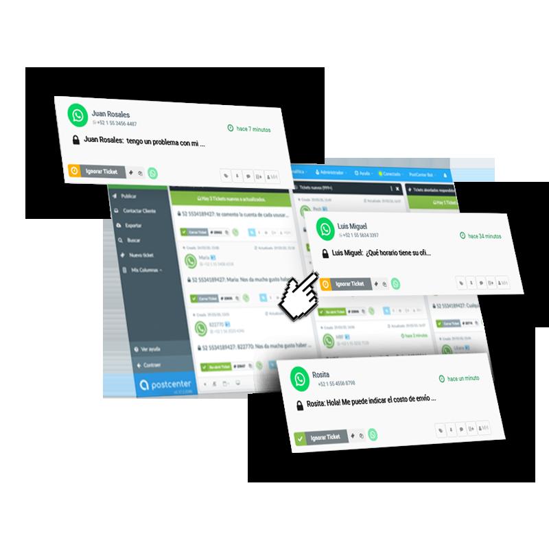 Soporte por WhatsApp Business API