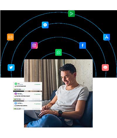 Plataforma omnicanal que se integra con otras plataformas