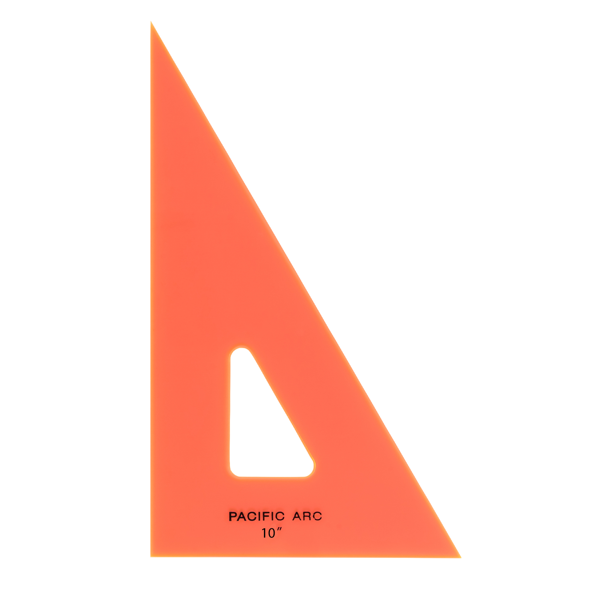 fluorescent drafting triangle by pacific arc