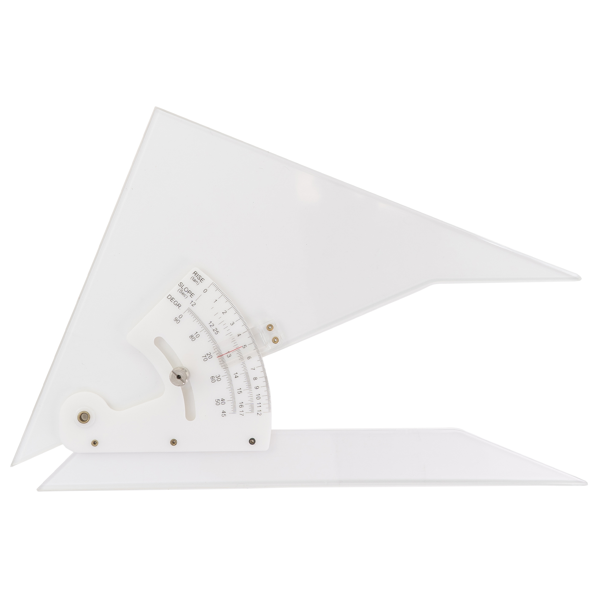 large adjustable drafting triangle by pacific arc