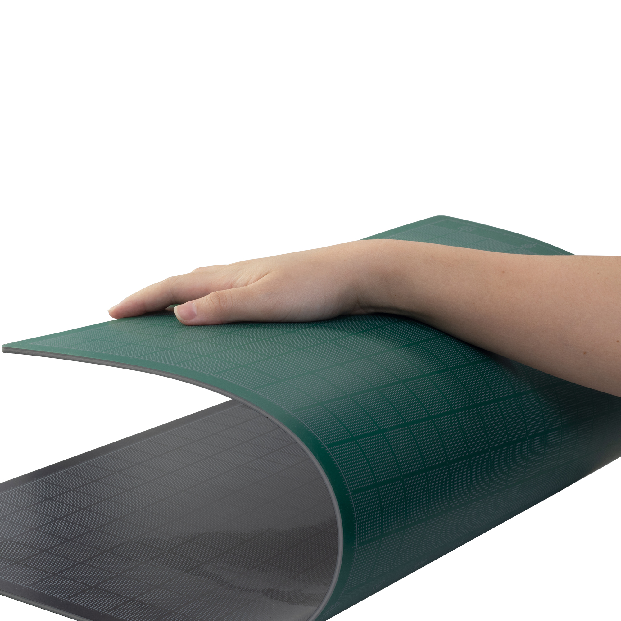 flexible bendable cutting matt, able to flexible when is used. self healing cutting matt from pacific arc