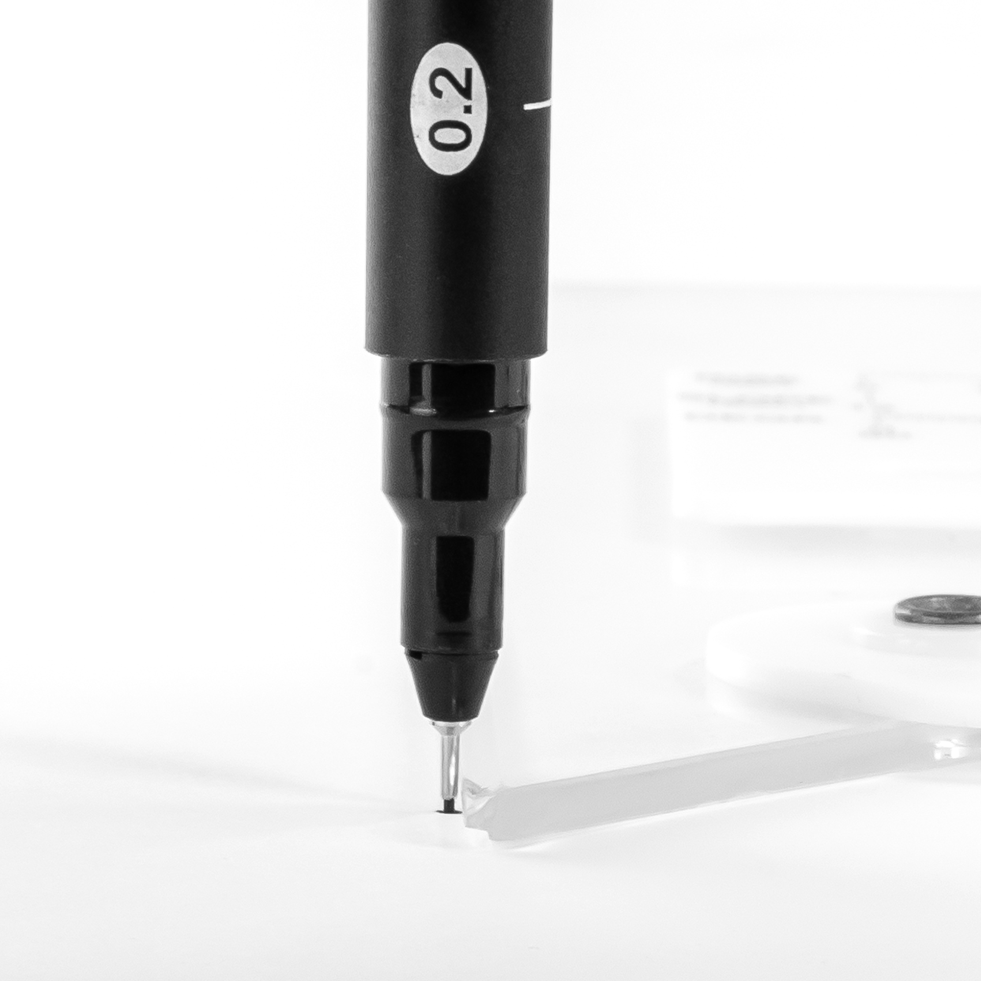 adjustable triangles come with a inking edge easy to draw on the surface while using the triangle by pacific arc