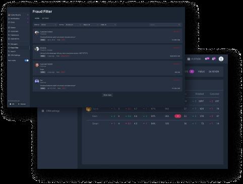 Administrator's Module and Statistics Dashboard