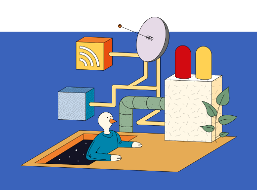 Digital Development Illustration