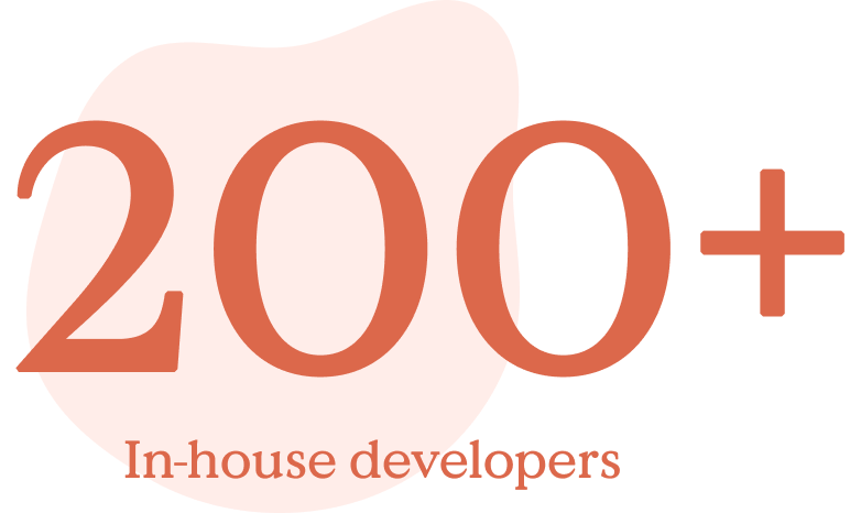 200+ In-House Developers Icon