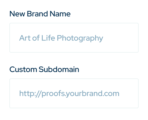 Product highlight on new brand name and custom subdomain