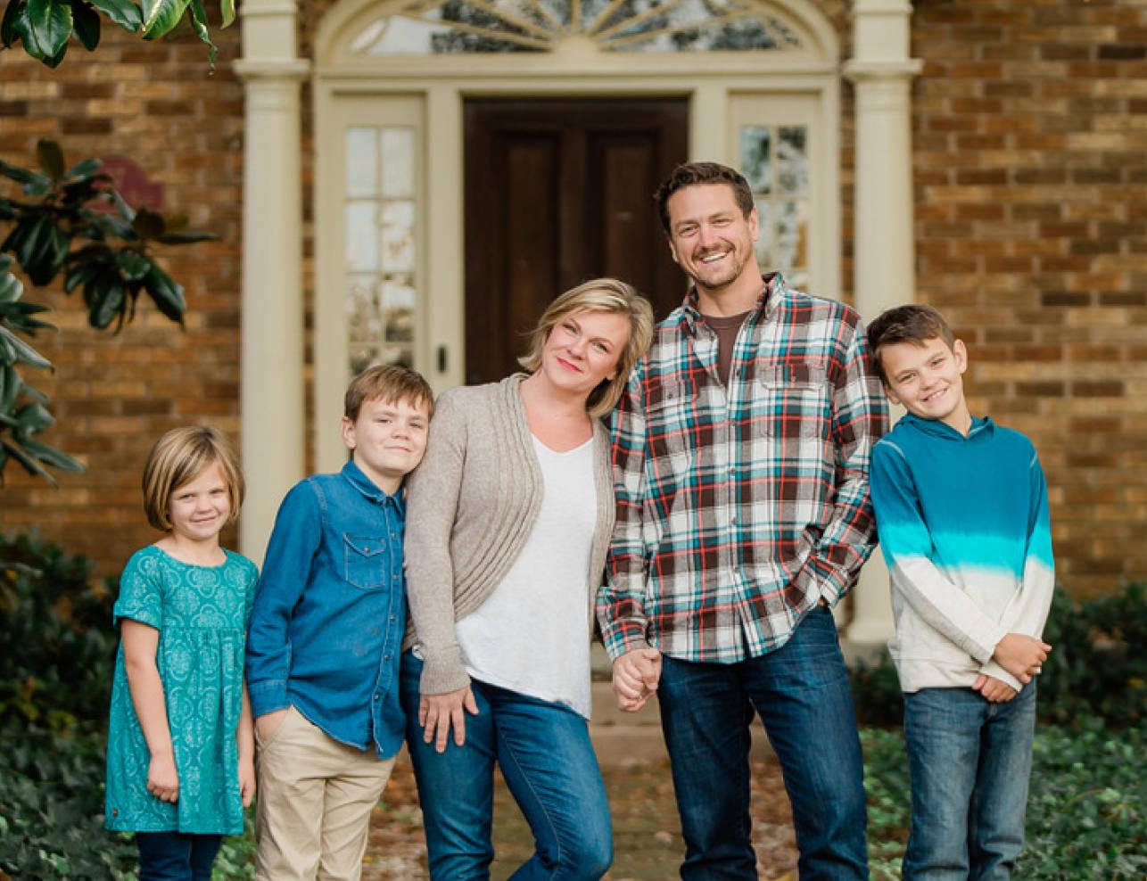 The Decisive moment family photograph