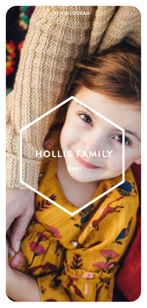 Family portrait mobile gallery for Jen Bilodeau