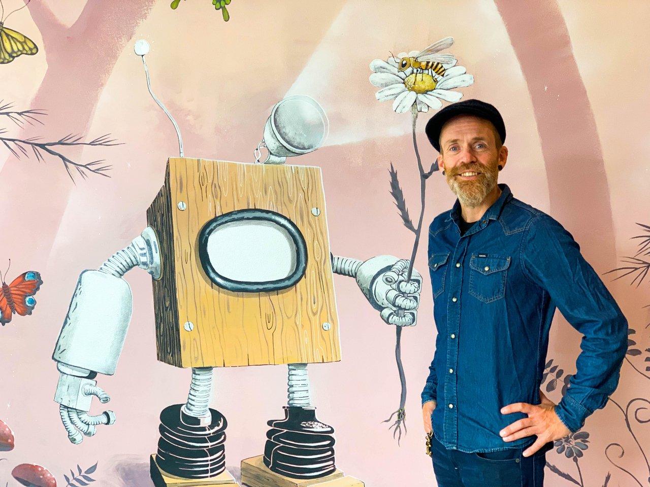 Vernissage Lars Aurtande // Konsert med Electricity