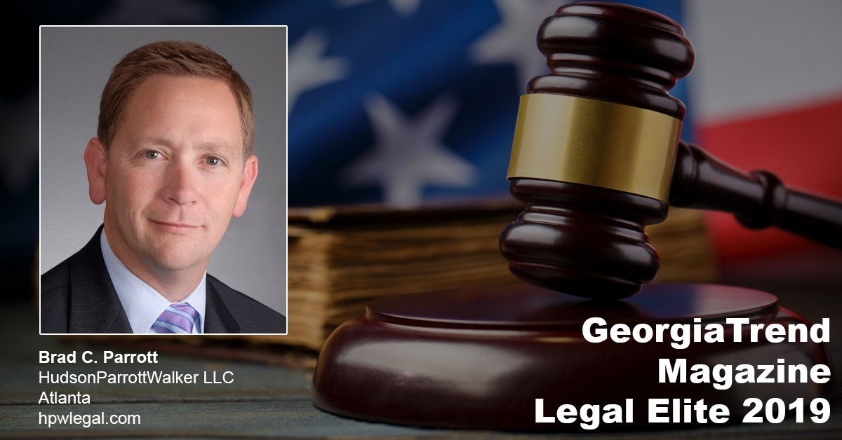 Brad Parrott Named One Of Georgia Trend's 2019 Legal Elite