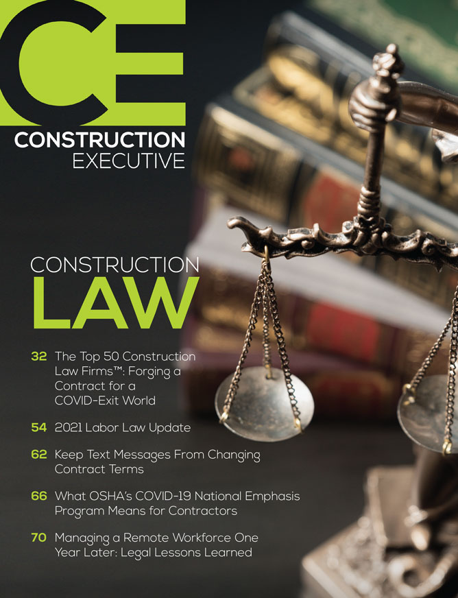 For the Third Consecutive Year, HLPW Ranked Among Elite In Construction Industry Law Firm Rankings