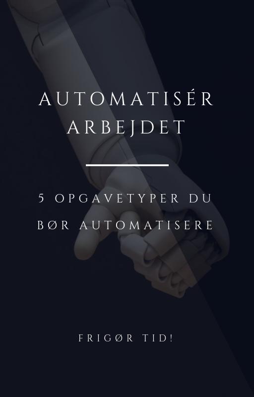 Opgavetyper, du med fordel kan automatisere