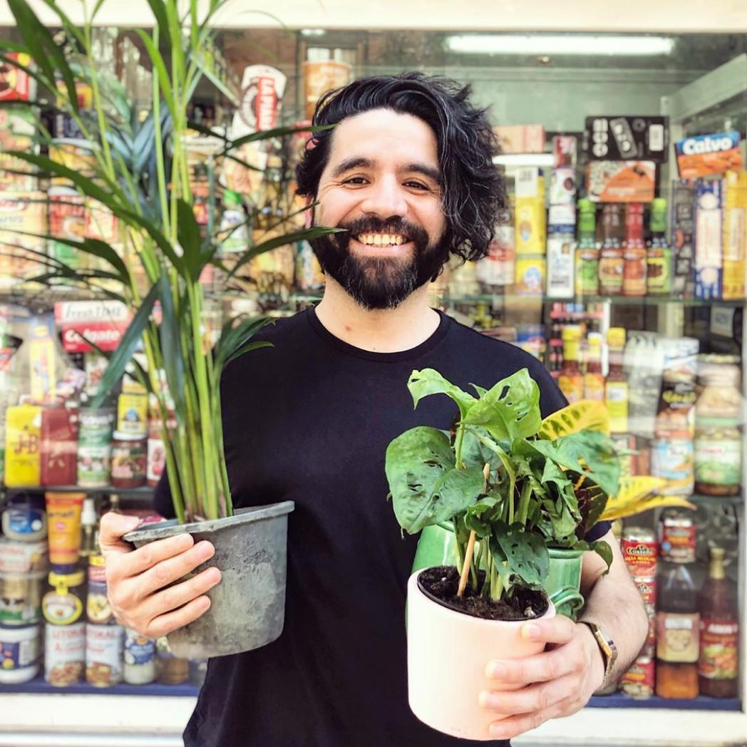 Pablo, professional doodler and plant parent