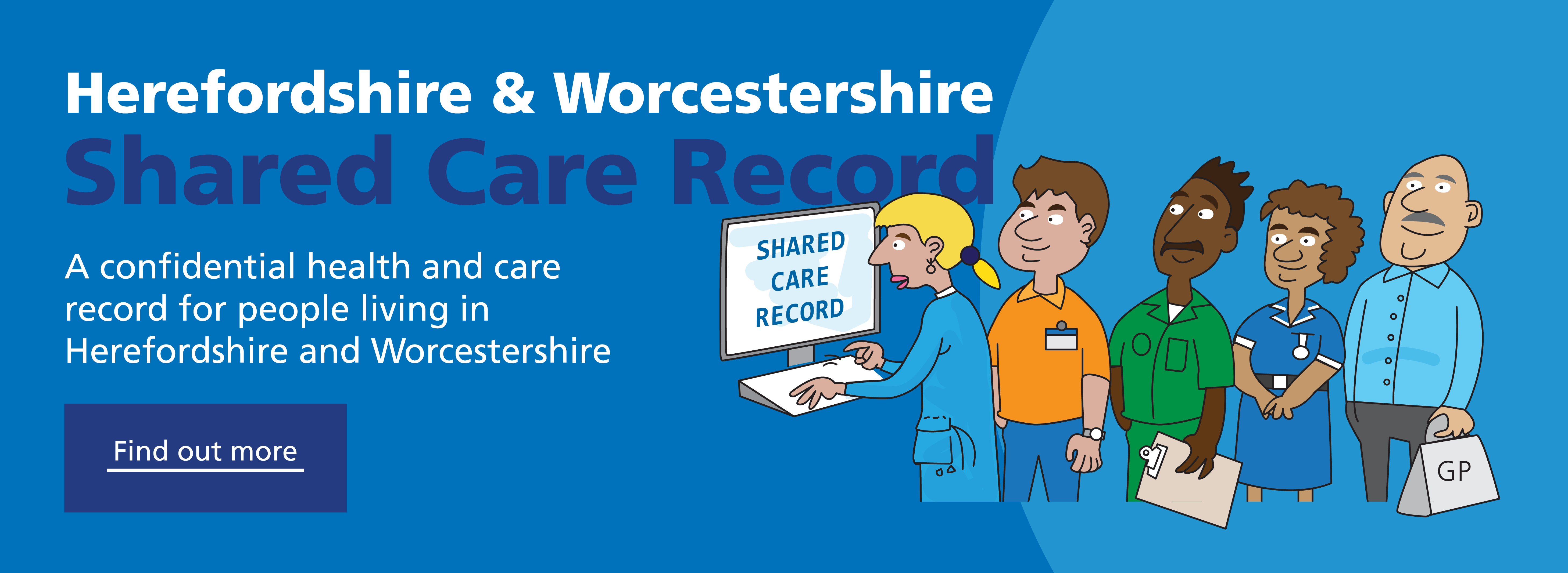 Herefordshire and Worcestershire Shared Care Record information for people living in the area