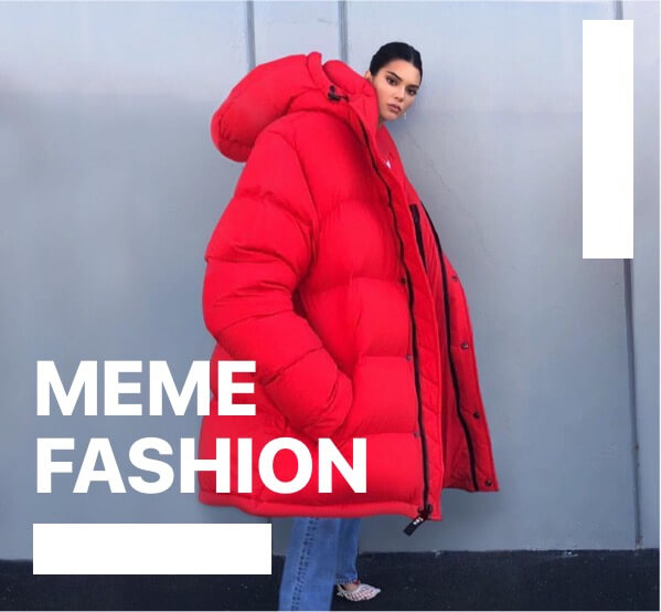 meme fashion as onne of the design-trends-2020