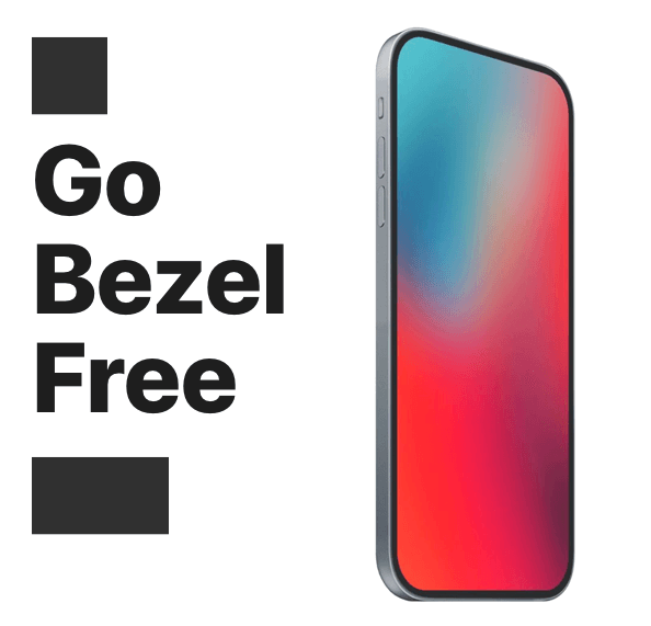 bezel free