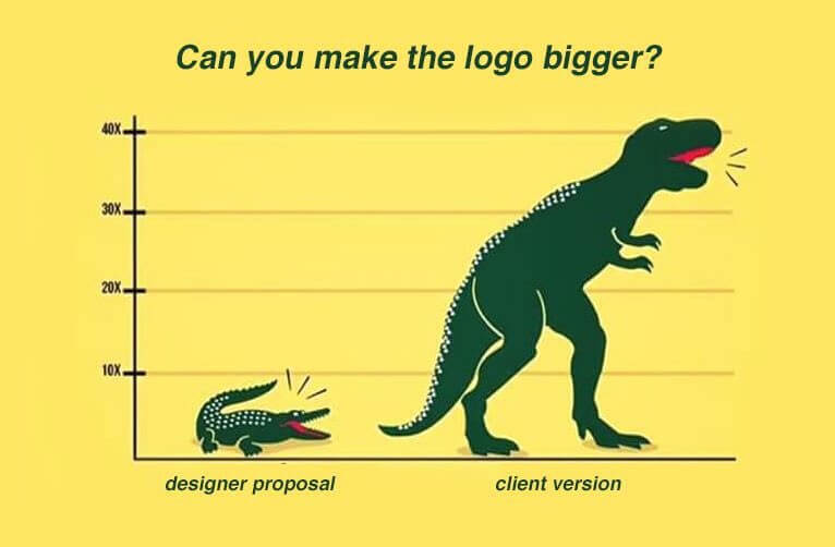 can you make the logo bigger