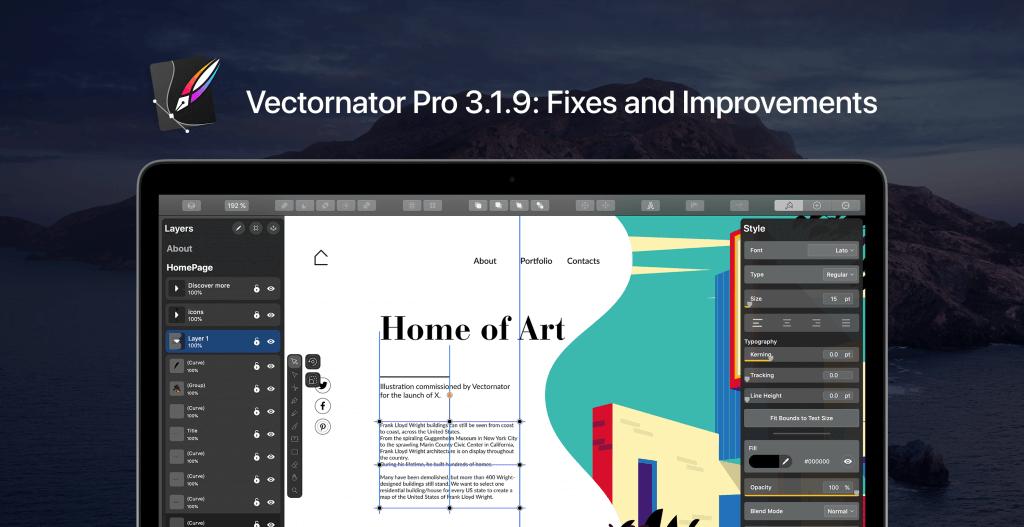 vectornator pro 3.1.9 fixes