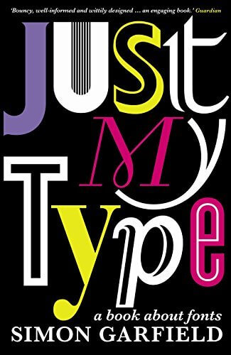 graphic design book about typography