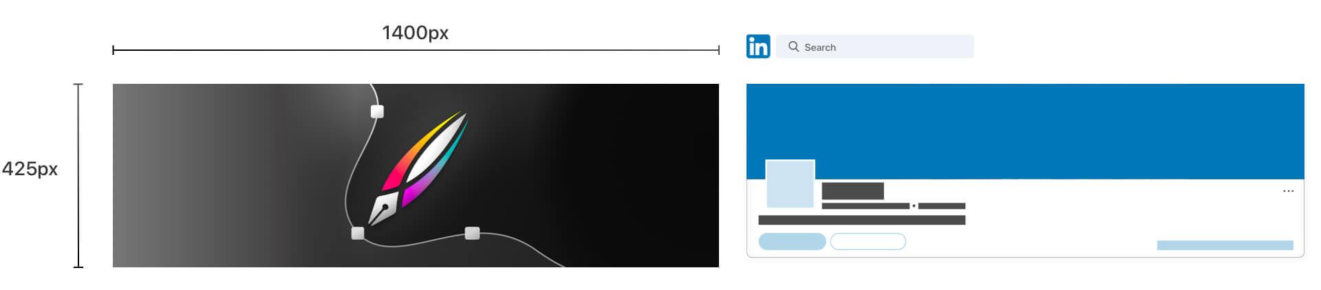 linkedIn company cover Image dimensions