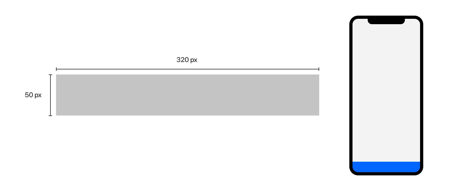 mobile leaderboard banner dimensions
