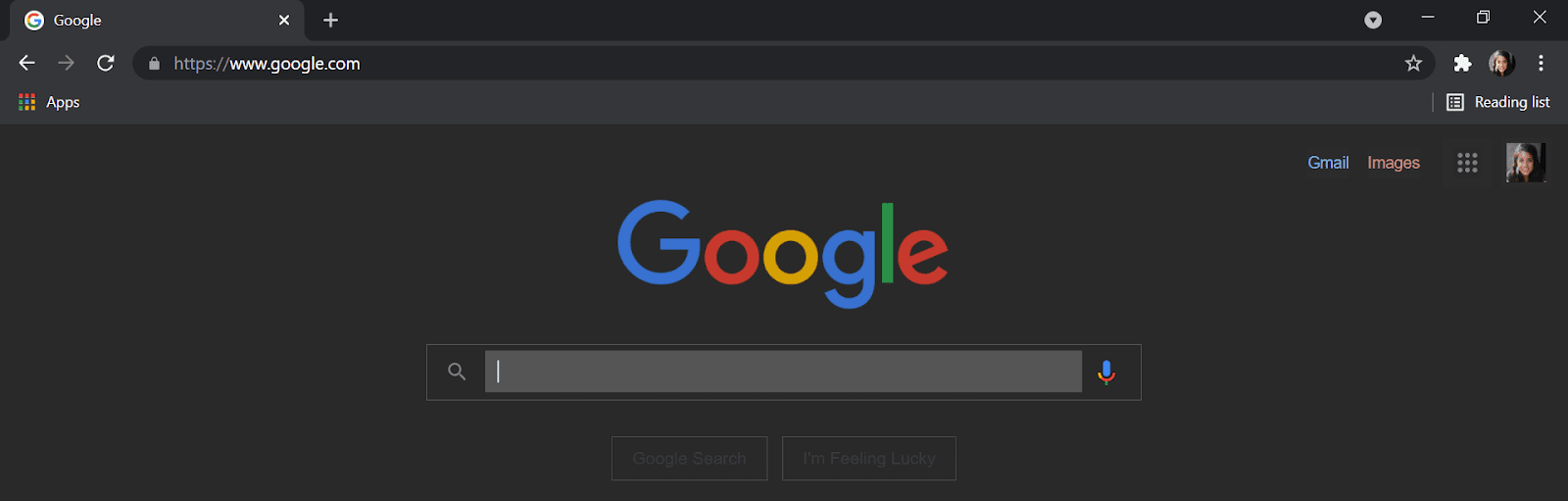 Dark mode with Chrome extension