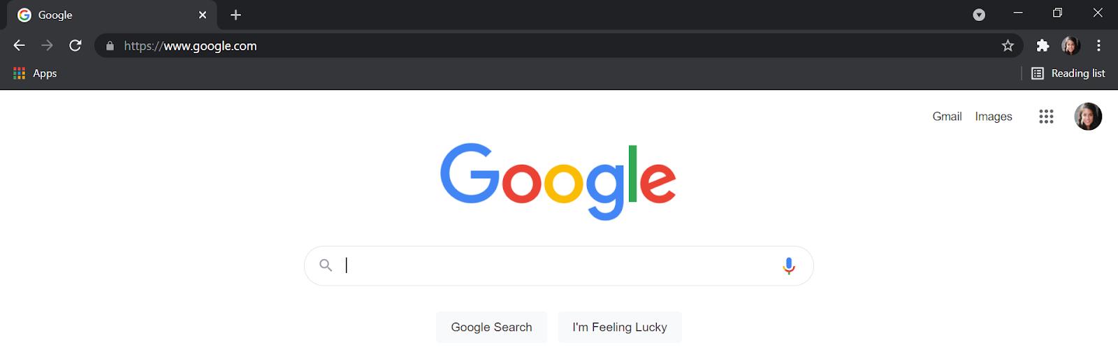 System wide dark mode Google Chrome