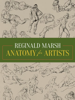 Book cover to Reginald Marsh's Anatomy for Artists
