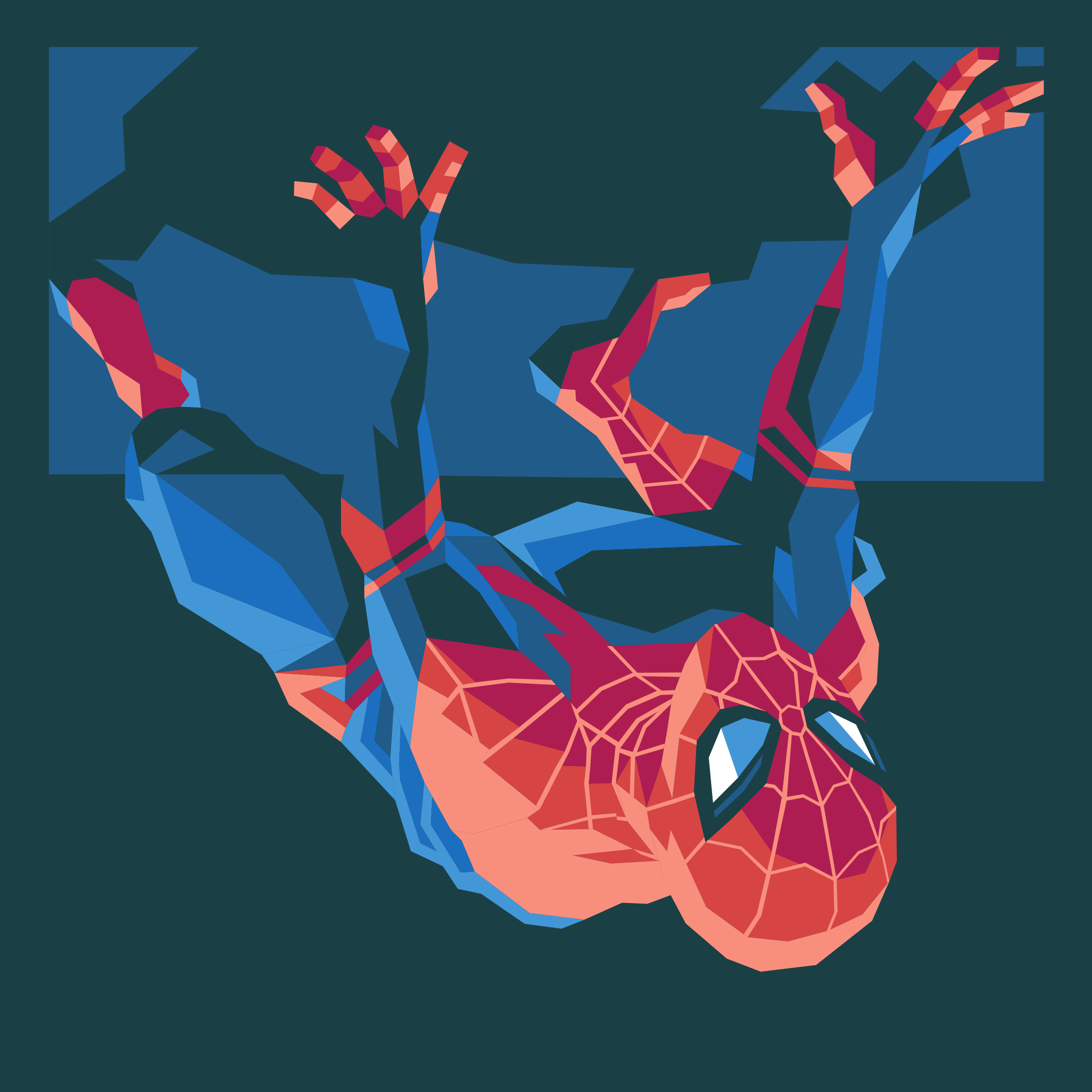 spider man vector art