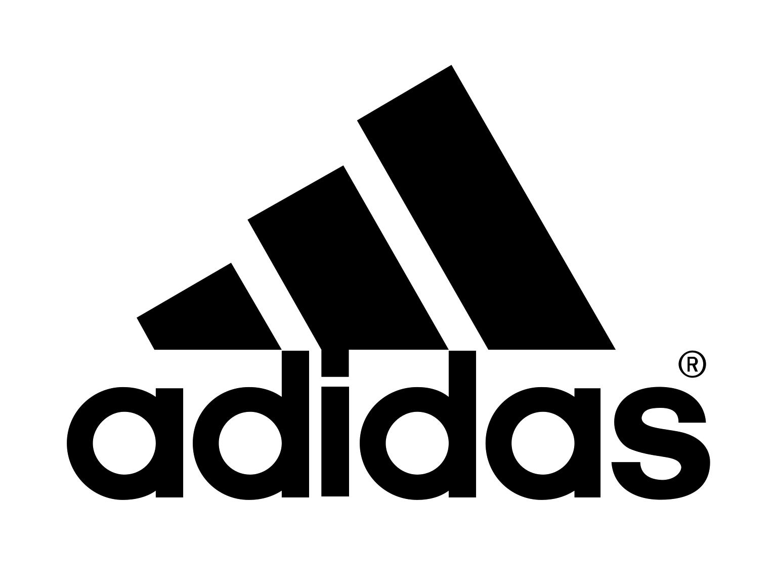 modern adidas logo