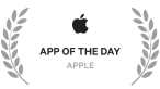 Apple app of the date award iconj