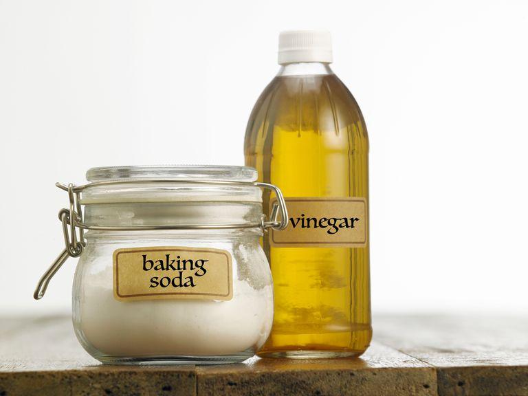 baking soda and vinegar