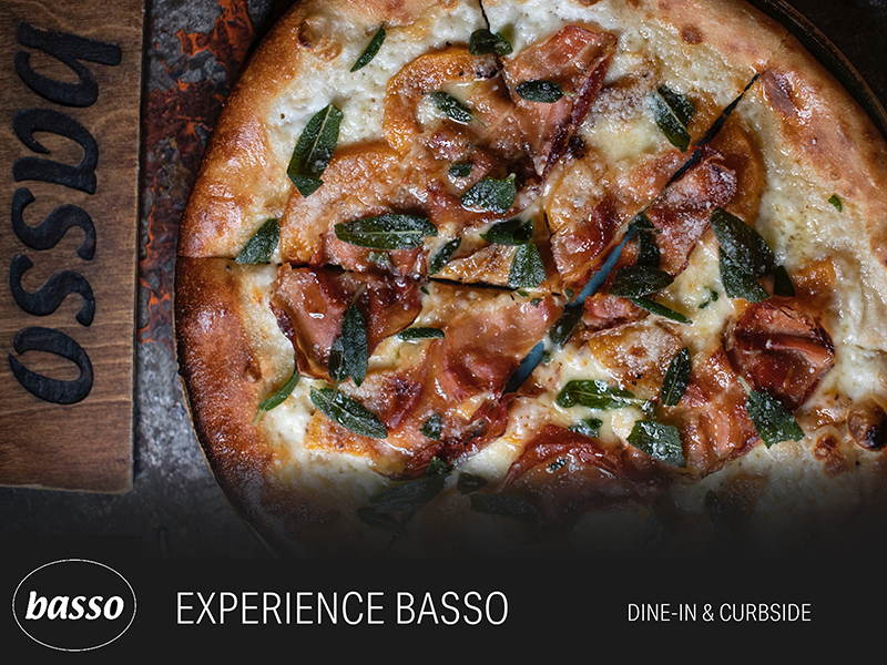 Basso STL Open for Dine in and Curbside