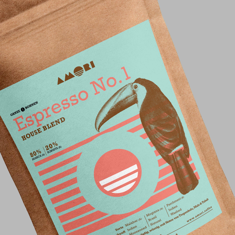 Amori Espresso No. 1 Detail