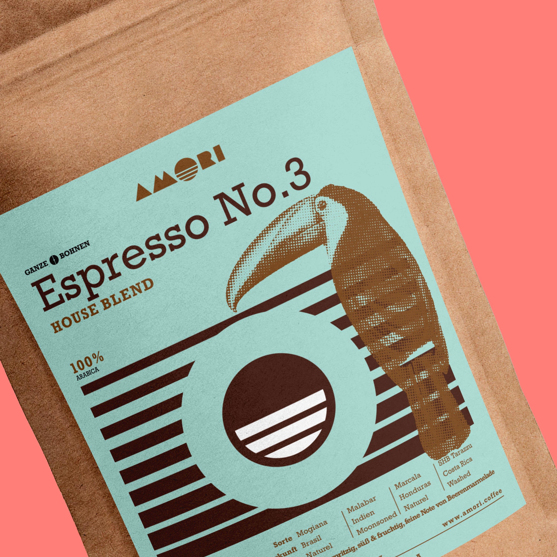 Amori Espresso No. 3 Detail