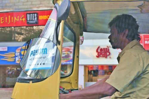 Paytmが利用できる三輪タクシー