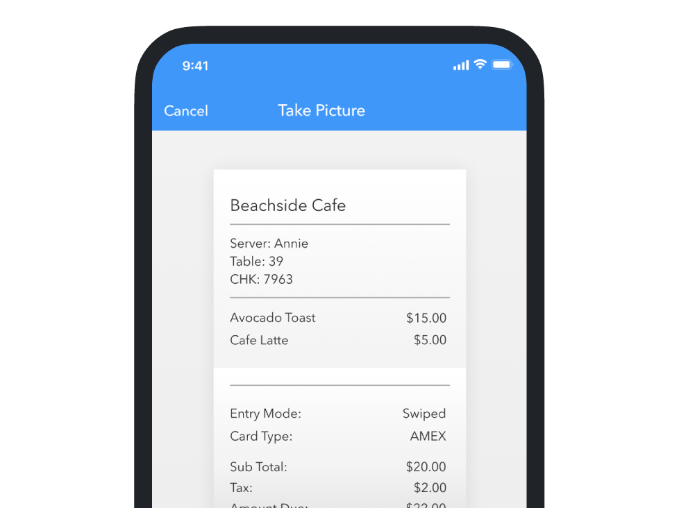 Automatic Receipt Matching