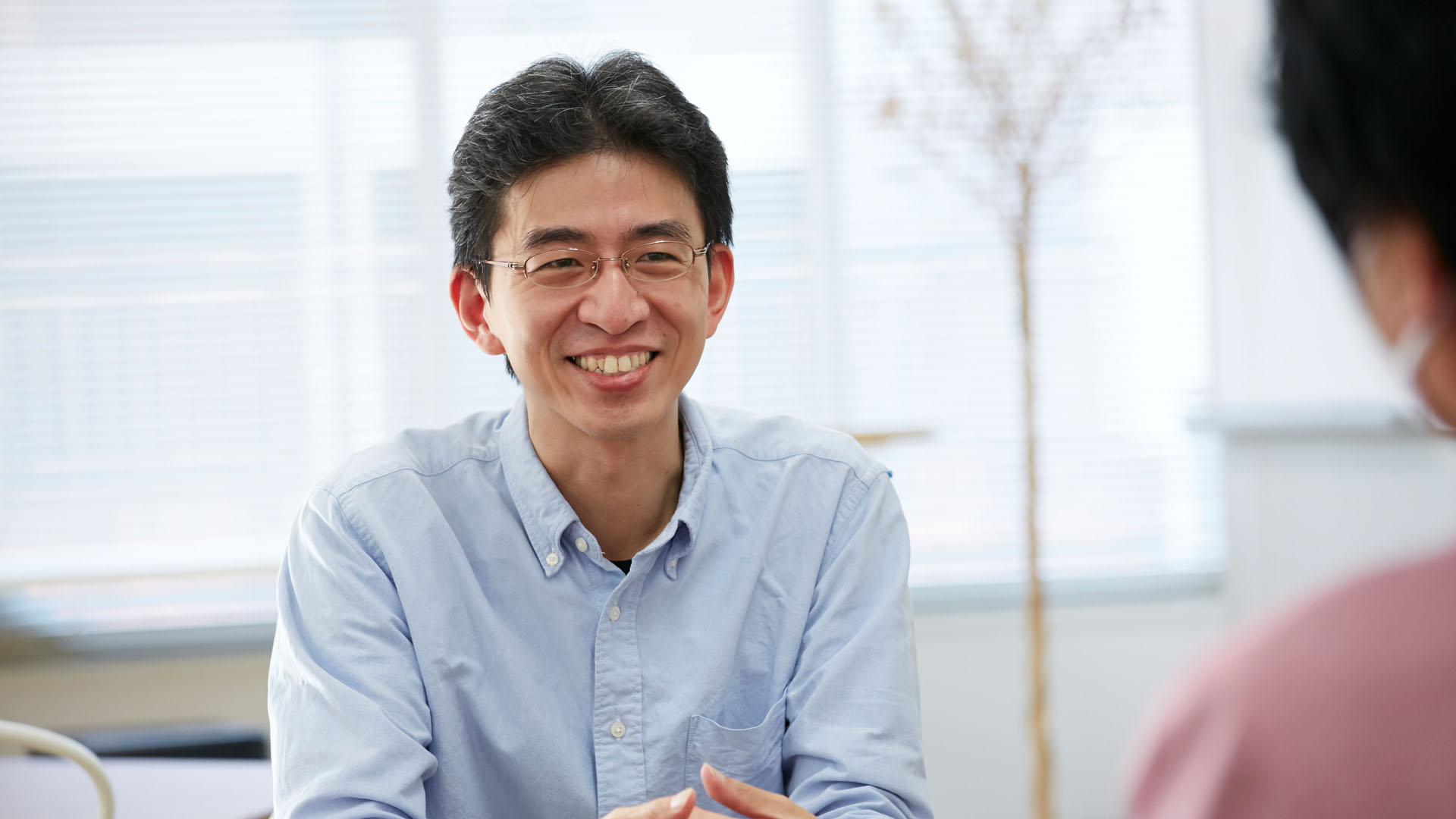 Moneytree LINK case study interview with Mikatus chief product officer Uemura san being interviewed