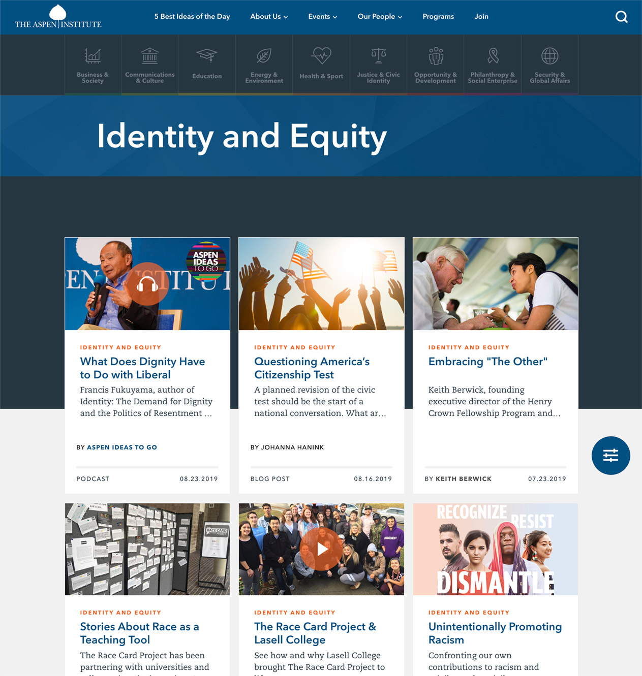 Identity and Equity