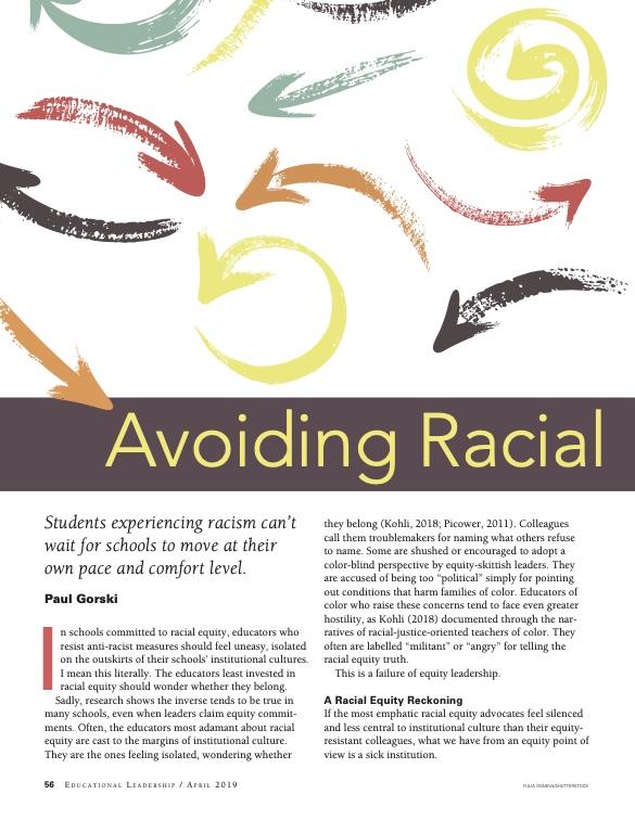 Avoiding Racial Equity Detours