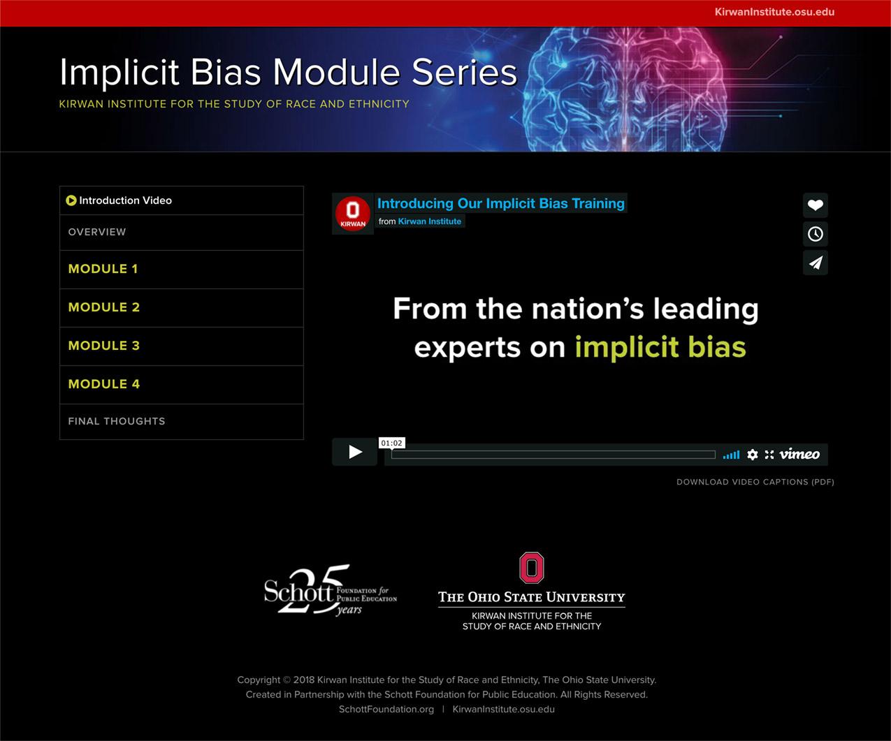 Implicit Bias Training